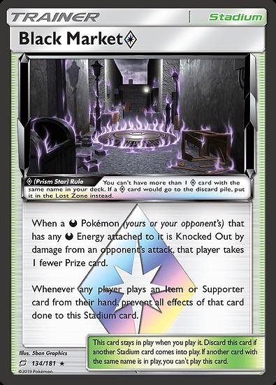 Black Market Prism Star (Team Up #134)