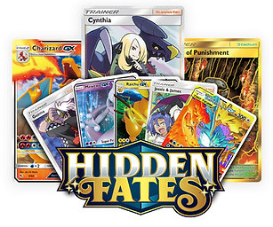 Pokemon Hidden Fates Booster Pack Break - 1 Pack
