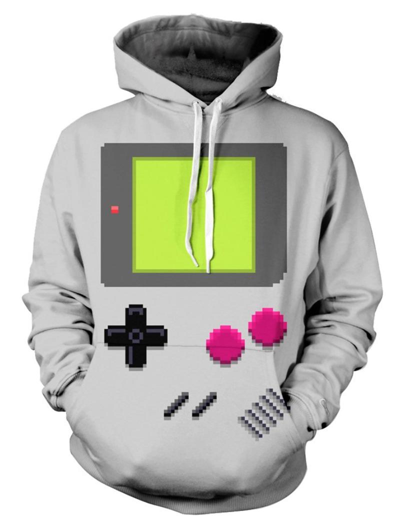 gameboy hoodie