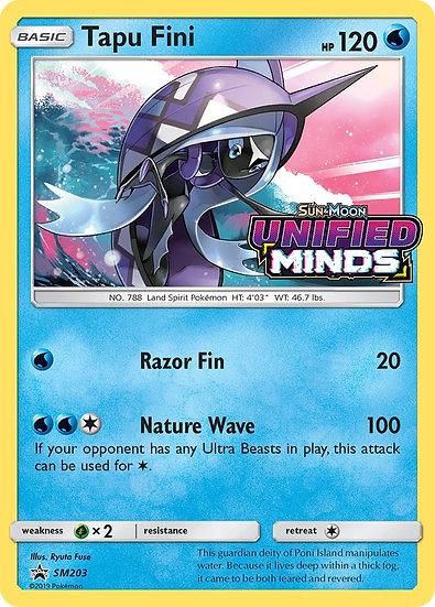 Tapu Fini Unified Minds Prerelease Promo SM203