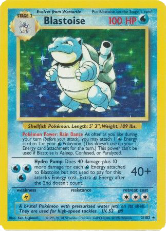 Blastoise (Base Set #2)