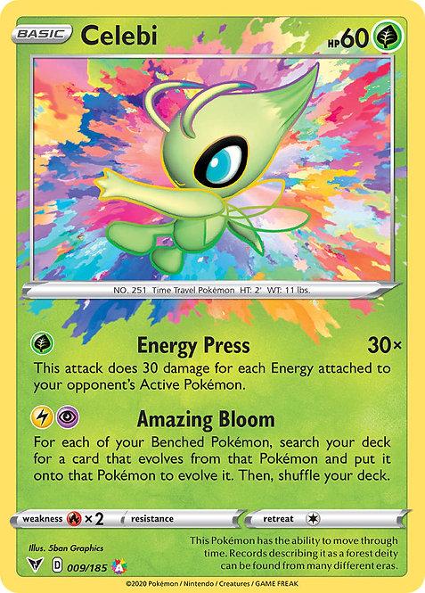 Celebi Amazing Rare (Vivid Voltage #009)