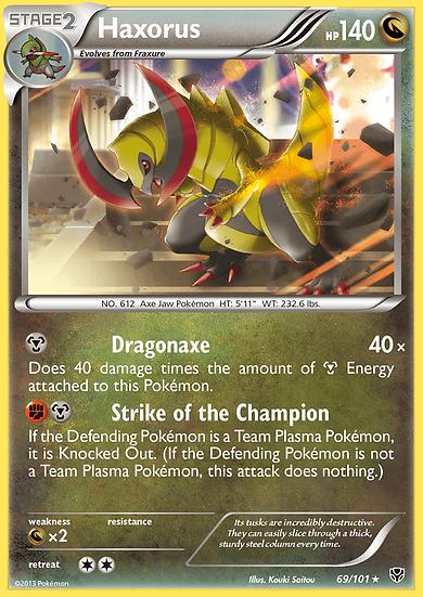 Haxorus (Plasma Blast #69)