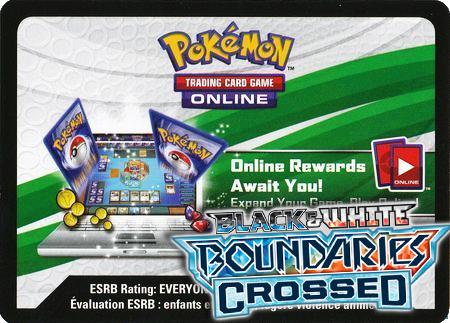 Boundaries Crossed Booster Pack (Pokemon TCGO Unused Code Card)