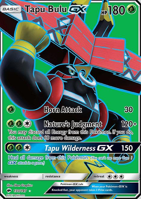 Tapu Bulu GX Full Art (Burning Shadows #130)
