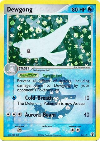Dewgong Reverse Holo (EX Fire Red & Leaf Green #3)