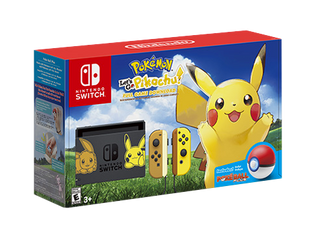 NEW POKEMON NINTENDO SWITCH BUNDLE: Let's Go Pikachu and Let's Go Eevee!