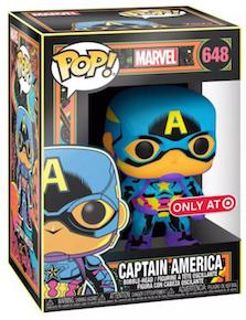 Funko Pop! Marvel Captain America 648 (Target Exclusive)