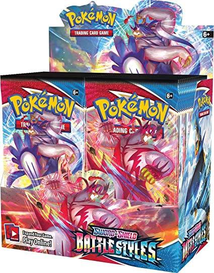Pokemon Battle Styles Booster Box Break - 1 Pack