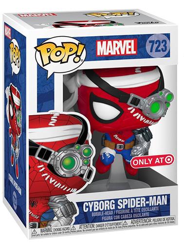 Funko Pop! Marvel Cyborg Spider-Man 723 (Target Exclusive)
