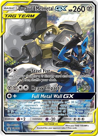 Lucario & Melmetal GX Tag Team Promo SM192