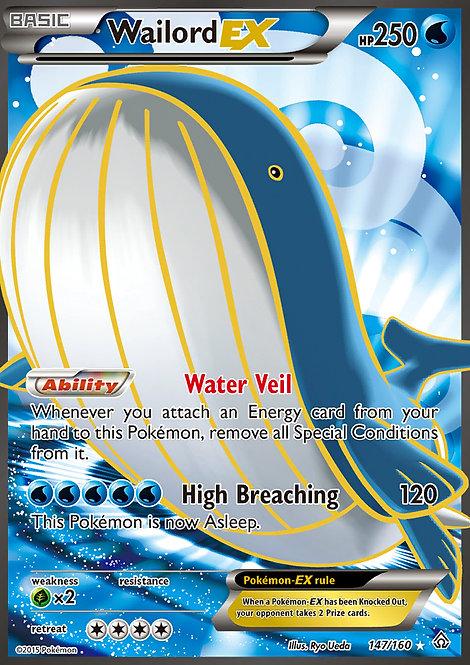 Wailord EX Full Art (Primal Clash #147)
