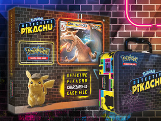 "DETECTIVE PIKACHU POKEMON CARDS! Exclusive ""Case Files,"" GX Cards, and More"