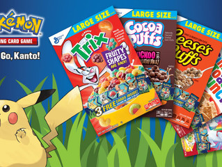 Pokemon is at it again! EXCLUSIVE Pokemon Card Cereal