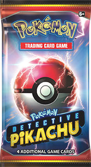 Detective Pikachu Booster Pack TCGO Code Card