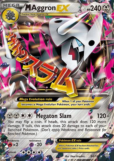 M Aggron EX (Primal Clash #94)
