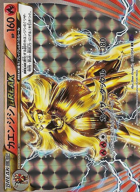 Pyroar BREAK 1st Edition (Japanese XY11 #10)