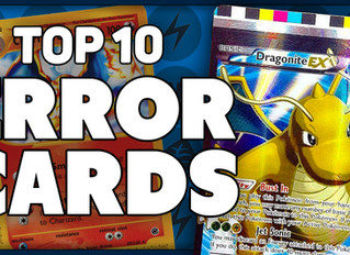 Top 10 Most Bizarre Pokemon Error Cards