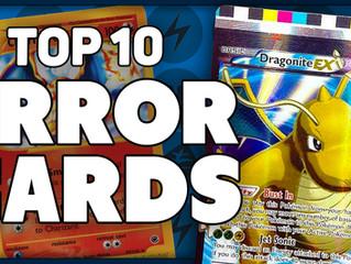 Top 10 Most Bizarre Pokemon Error Cards