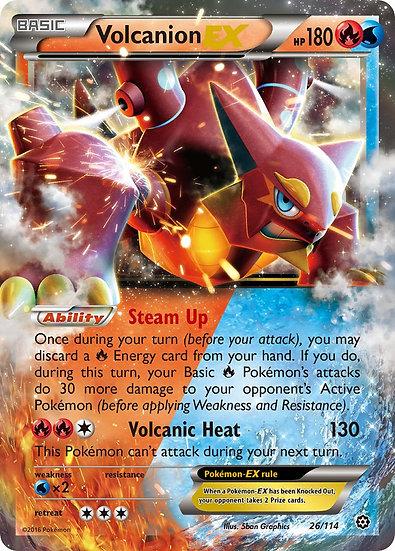 Volcanion EX (Steam Siege #26)