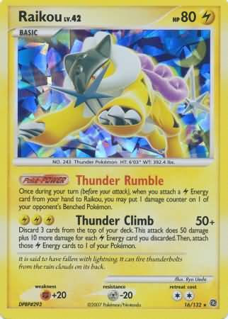 Raikou Shattered Holo (Theme Deck Exclusive)