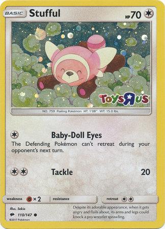 SEALED Stufful Toys R Us Promo