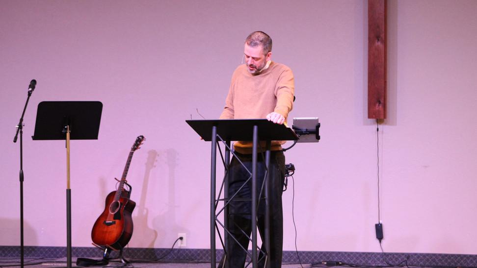 Pastor Brad Preaching