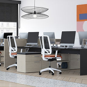 "Groupe Lacasse, started in 1956, was the first manufacturer of laminate office furniture ever in our industry.  They have expanded with multiple brands including United Chair, Arold Soft Seating, and Neocase modular casework. Lacasse utilizes a collaborative process to create the ideal workplace, healing or learning environment. Using a team of locals along with designers and engineers from Lacasse, they work with you to create the best solution. Our motto is we treat a standard like a special and a special like a standard. ""Tell us what you want and we will build it."""