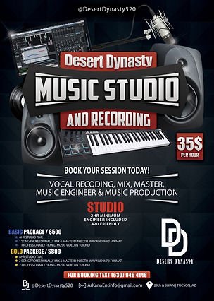 Desert Dynasty Music & Recording Studio.