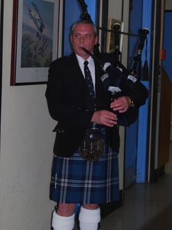 Piping at Celebration of Life