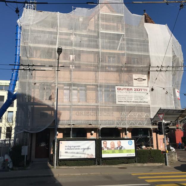 Umbau MFH Zürich