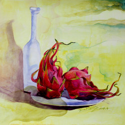 Watercolor2 53X53cm