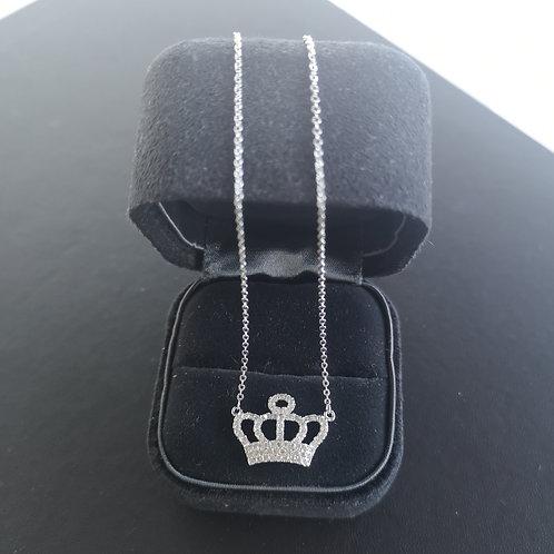 Crown Design Pendant Lady Fashion Necklace