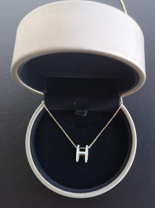 POP H Design Double sided Pendant Lady Fashion Necklace