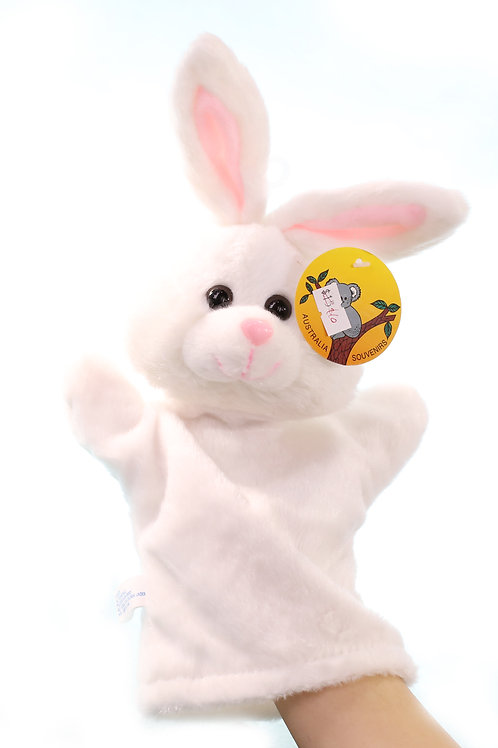 RABBITS hand puppet CUTE Animals Collections Good Gifts for Kids