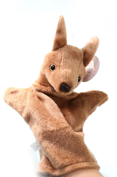KANGAROOS hand puppet Australia Animals Collections Good Gifts for Kids