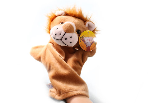 LIONS hand puppet CUTE Animals Collections Good Gifts for Kids