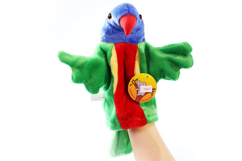 parrots hand puppet Australia Animals Collections Good Gifts for Kids