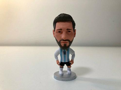 Lionel Messi FC Soccer Player Figurine