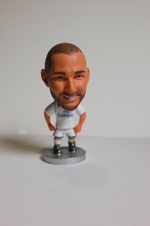 Karim Benzema Real Madrid Soccer Figurine