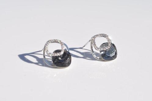 Swarovski Earring 925 Sterling Silver Post
