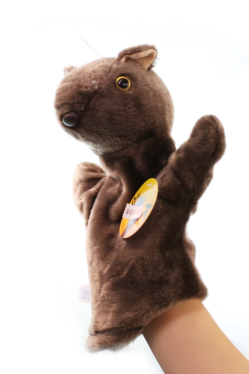 WOMBAT hand puppet Australia Animals Collections Good Gifts for Kids
