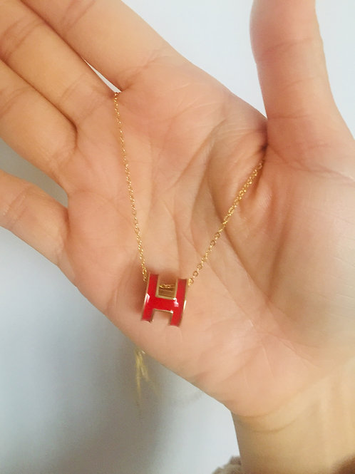 18K gold plated fashion necklace