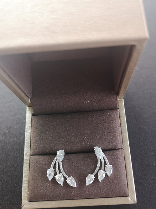 High Quality sterling silver Lady Fashion Earrings