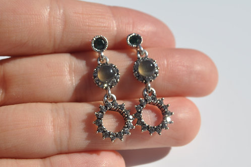 Swarovski Earring 925 Sterling Silver Post