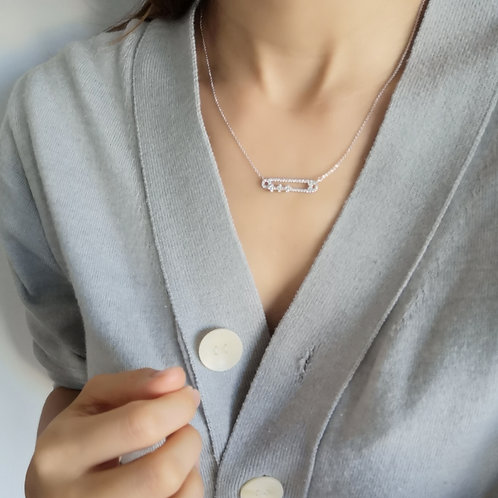 925 sterling silver fashion necklace