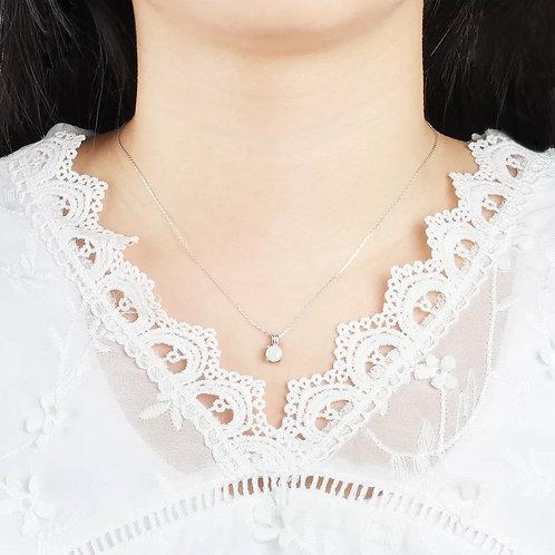 S925 Opal Fashion Jewel set