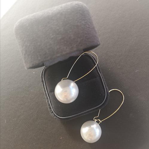 Dangle Cultured Freshwater Pearl Lady Earrings