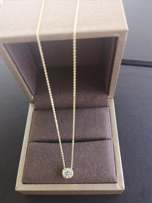 DIAMANTS LÉGERS Lady Fashion Pendant Necklace