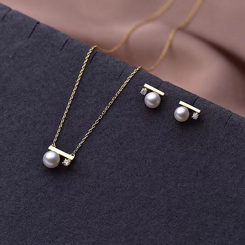 Sea pearl fashion set